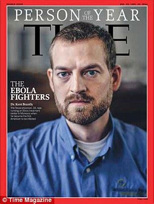 the ebola fighters named as time s person of the year