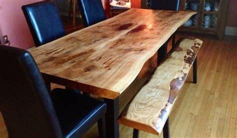 edge ontario reclaimed wood dining table woodify canada