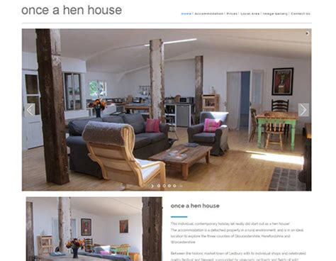 website to design a house responsive website design hull by weborchard once a hen house website
