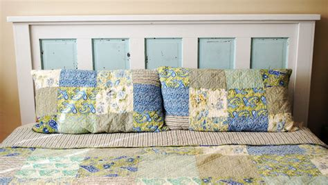 mounting a headboard to a bed frame ain t she crafty how to build a headboard from an old door