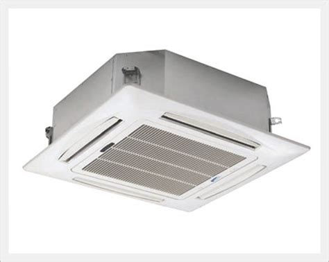 ceiling fan direction with air conditioning fan coil unit 4 way ceiling cassette type air
