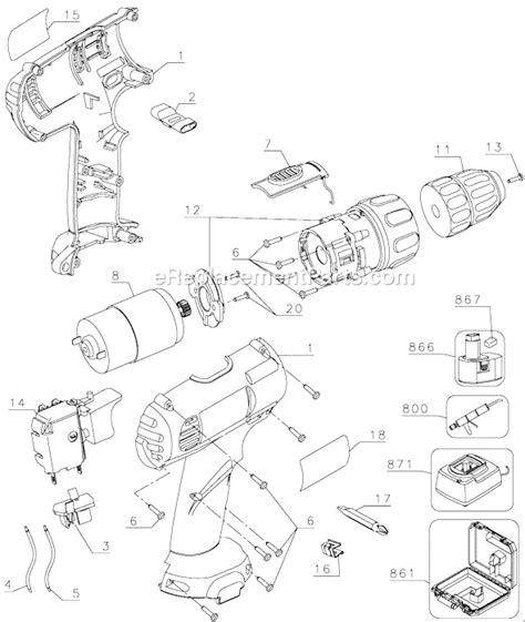 Dw Paket Dw094 Type J dewalt dw907 parts list and diagram type 1 ereplacementparts