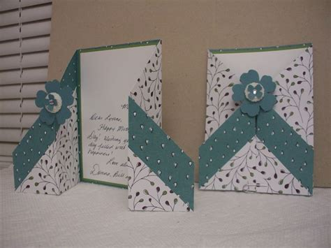 how to make folded cards 19 best images about gate fold cards on bakers