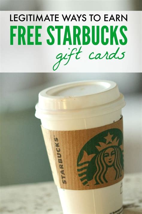 How To Get A Free Starbucks Gift Card - 17 best starbucks gift ideas on pinterest gift ideas thanks a latte and
