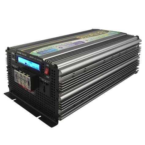 Promo Inverter 5000w Dc 24v Ac 220v Sine Wave 5000 Watt Peak dc ac power inverter 5000w 12v 24v 110v 220v 230v 240v 5kw