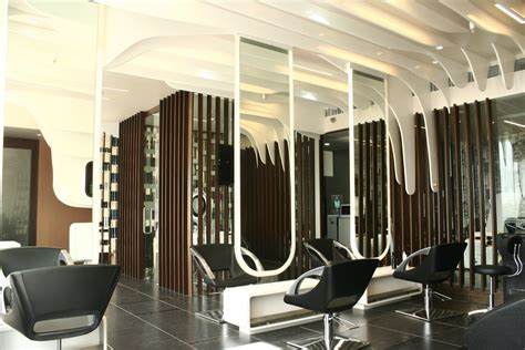 Interior Design Of Parlour by In Pictures Tony And Salon At Gurgaon By Mofa