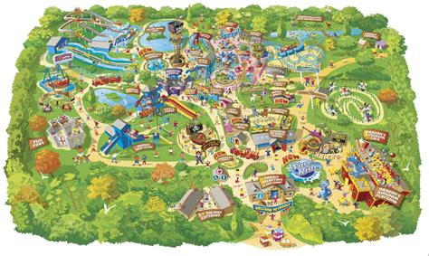 theme park uk map alton towers founder buys cornwall park