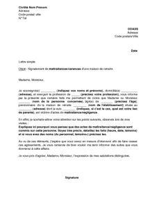 Exemple De Lettre De Motivation Maison De Retraite Exemple Lettre Motivation Maison De Retraite