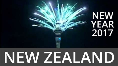 new zealand auckland new year celebrations youtube