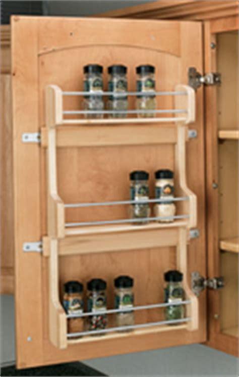 Spice Rack Cabinet Mount by Rev A Shelf Door Mount Spice Rack Rev A Shelf Spice Racks