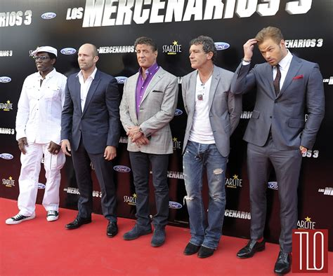 danny glover greatest showman the boys at the quot the expendables 3 quot spain premiere tom