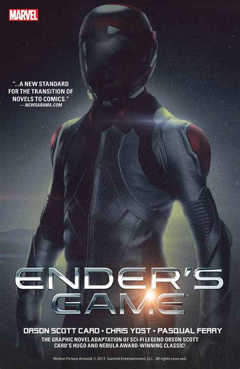 Enders Book Review Essay by Ender S By Orson Card Chris Yost And Pasquale Ferry Graphic Novel Review Mysf