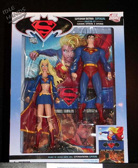 Superman Supergirl Figure Set which dc direct superman figures are the rarest