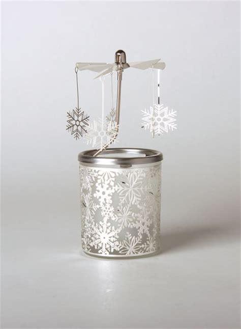 windlicht glas teelicht glas karussell windlicht schneeflocke teelicht