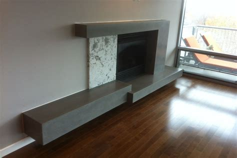 concrete fireplace surrounds st louis truecretetruecrete