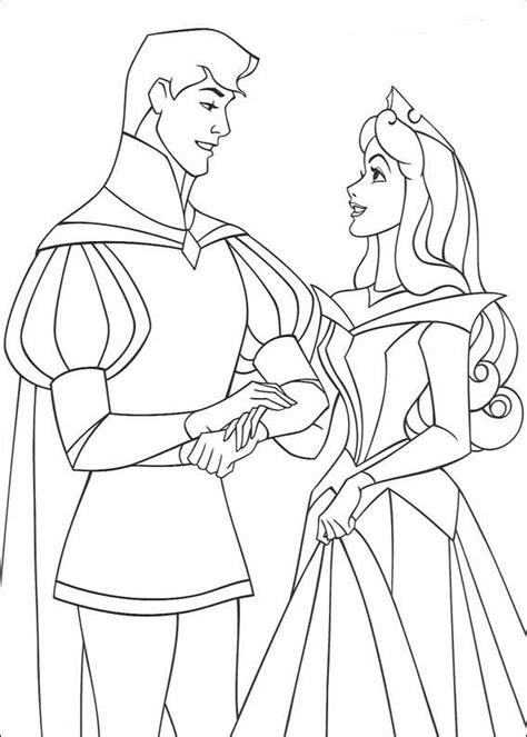 frozen wedding coloring pages kids n fun 19 kleurplaten van doornroosje