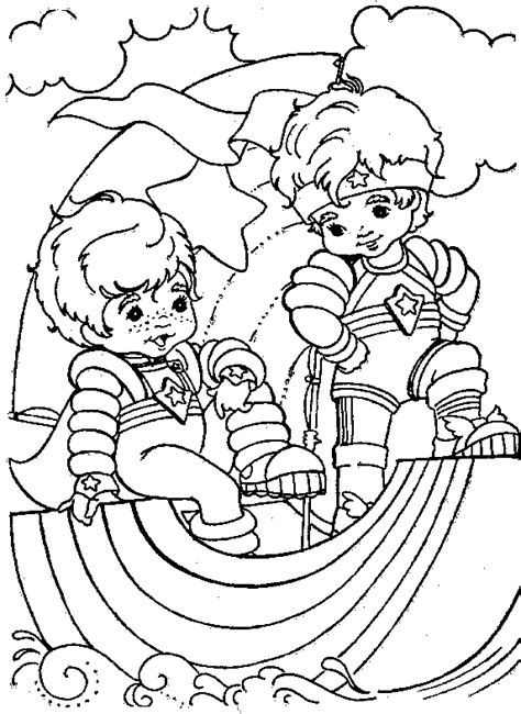 rainbow brite coloring pages free printable coloring page rainbow brite coloring me