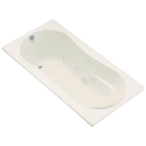 oval drop in bathtub kohler proflex 6 ft acrylic oval drop in whirlpool
