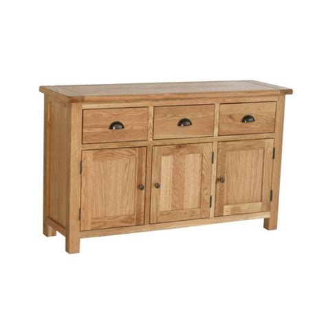 Vancouver Buffet Table With 3 Doors 3 Drawers