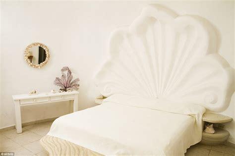 seashell headboard airbnb s seashell house hotel lies on the mexican island