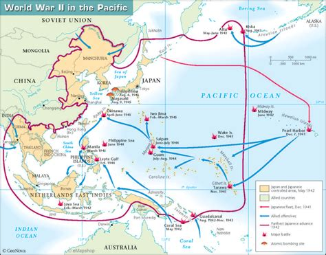 pacific war map world war 2 maps search world war ii maps