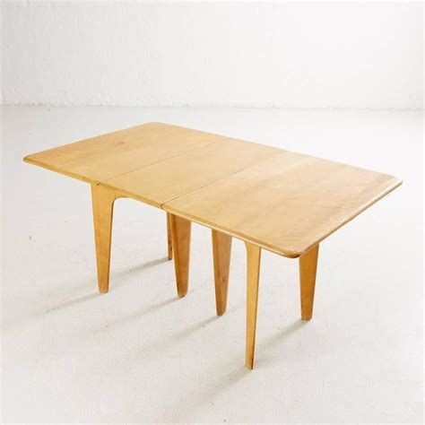 Heywood Wakefield Dining Table by Heywood Wakefield Drop Leaf Dining Table For Sale At 1stdibs