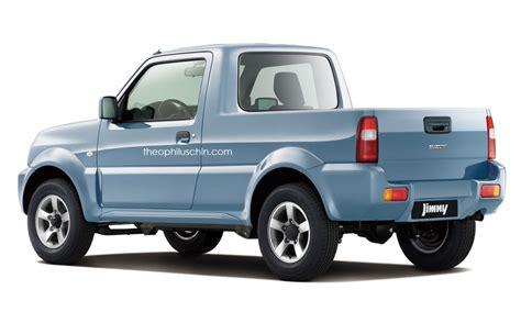 Suzuki Up Trucks Sure We Ll Take This Suzuki Jimny Rendering