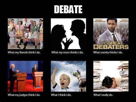 Memes Debate - lincoln douglas debate team