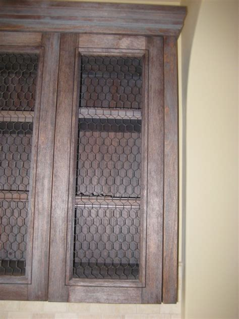 chicken wire cabinet doors 17 best images about chicken wire mesh on