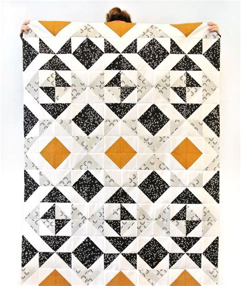 Triangle Patchwork Quilt Patterns - you can make this quilt or others like it using the nordic