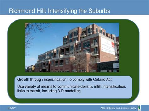 richmond hill design guidelines ppt housing in my backyard a municipal guide for