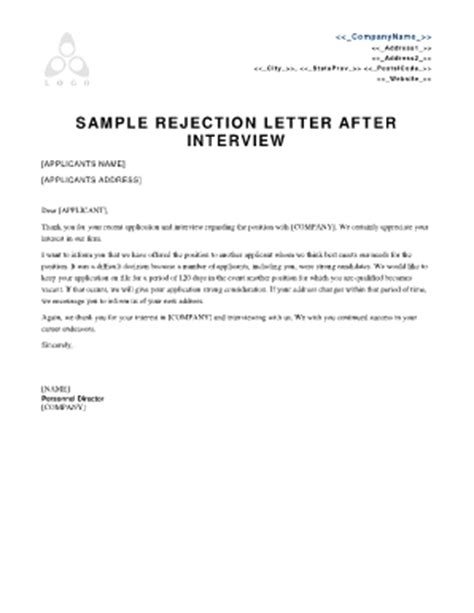 Rejection Letter High School rejection letter to the principal of a school fill