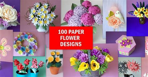 How To Make 100 Paper Flowers - how to make 100 paper flowers a go to dictionary for