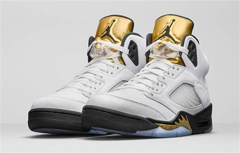Retro Le by Air 5 Olympic Date De Sortie Release Date