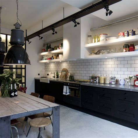 Subway Tile Backsplash Ideas industrial style kitchen design ideas marvelous images