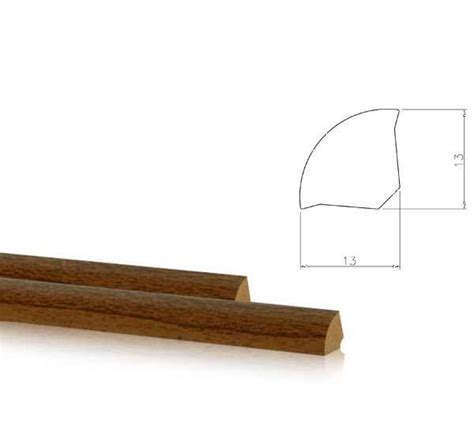 Sockelleisten Verlegen Winkel by Viertelstab Sockelleisten Eckprofil Winkel 13x13mm