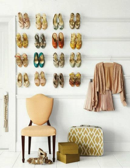 wall shoe rack diy crown moulding shoe racks decorating with your shoes