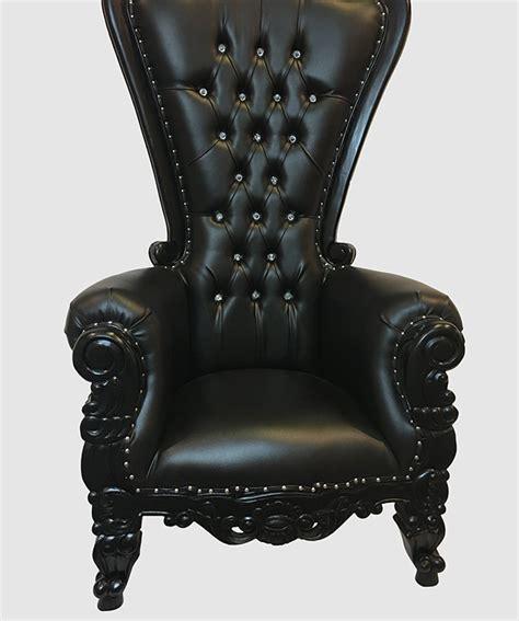 black throne chair high back throne chair black royalty furniture store