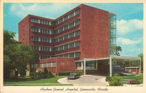 Records Gainesville Fl Florida Memory Alachua General Hospital Gainesville Florida
