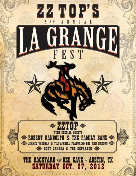 Zztop La Grange by Zz Top And La Grange