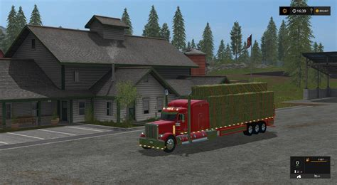 Handcrafted Ls - peterbilt 388 flatbed custom v1 for ls 17 farming