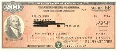 where to get savings bonds 200 u s savings bond