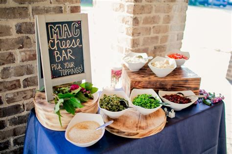 Macaroni Bar Toppings by Image Gallery Mac And Cheese Bar