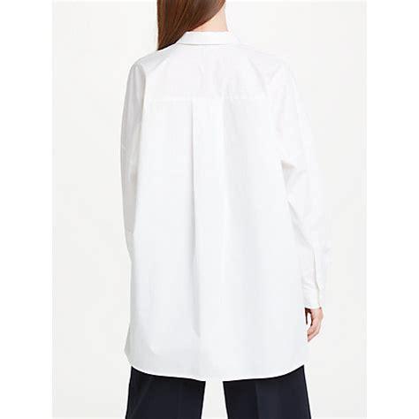 shirt pattern john lewis buy kin by john lewis oversized shirt white john lewis