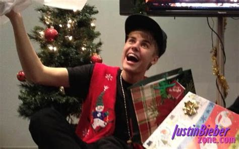 justin bieber wants underwears and socks for christmas