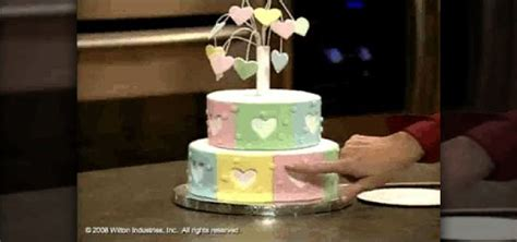How To Decorate A Tiered Cake by How To Make And Decorate A Fireworks Tiered Cake