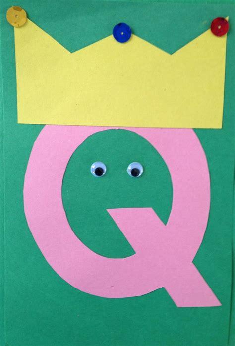 letter a crafts for letter q crafts preschool and kindergarten