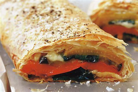 Fish Mozz By Momotaro Kitchen pepper and mozzarella strudel recipe goodtoknow
