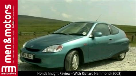 honda insight review  richard hammond  youtube