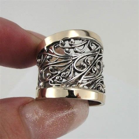 Handcrafted Gold Rings - 17 best ideas about filigree ring on beautiful